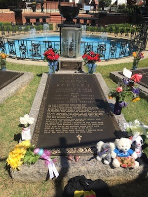 elvis presley mediation garden graceland free