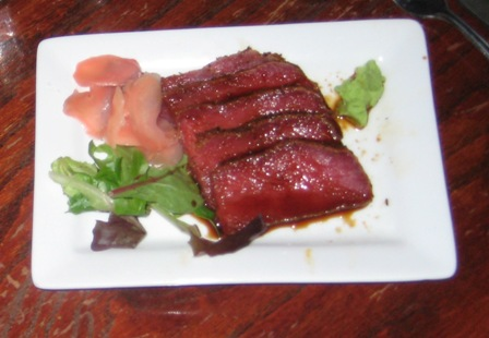 Ahi Tuna at Red Sky