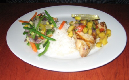 Hebe Fish Special Wahoo Grill