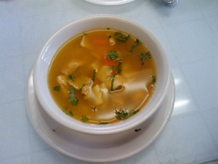 Colombian Bakery Fish Soup