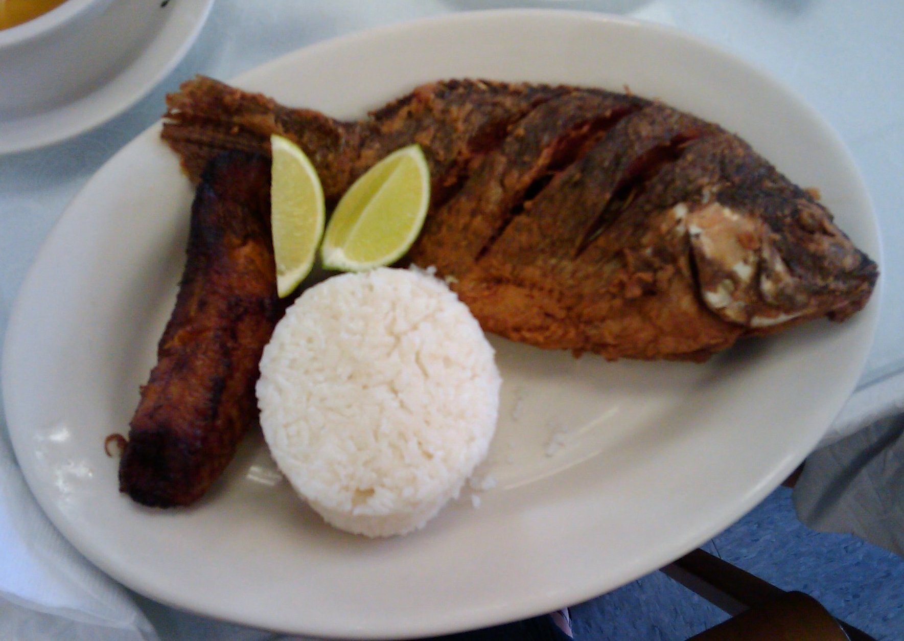Colombian Bakery Whole Fried Fish
