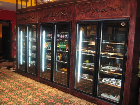 Atlanta Cheesecake Company Refridgerator Case