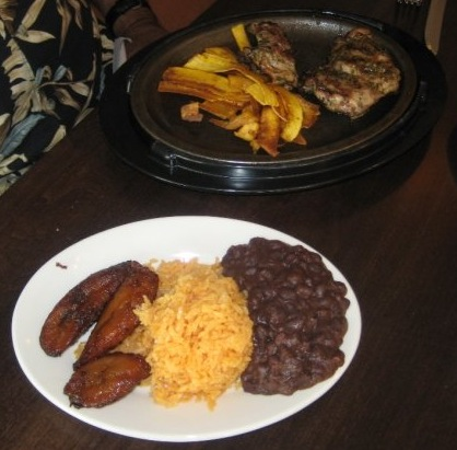 FuegoMundo Chicken, Rice, Beans and Plantains