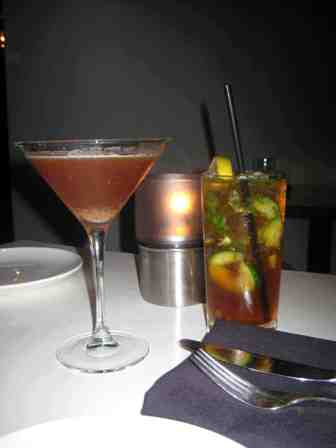 Top FLR Cynar Blood Orange and John McEnroe Cocktails
