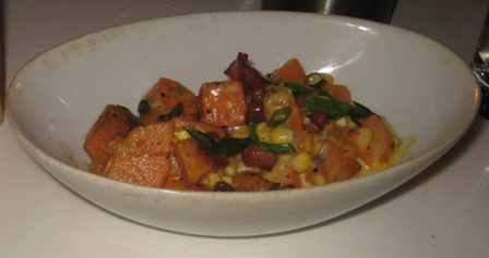 Top FLR Sweet Potato Succotash