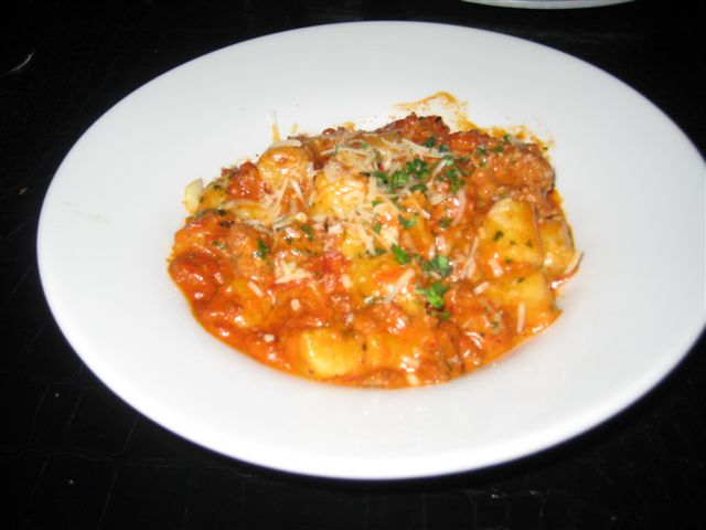 Dolce Sausage Gnocchi