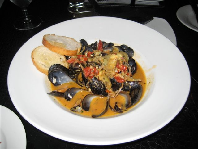 Dolce Mussels Appetizer