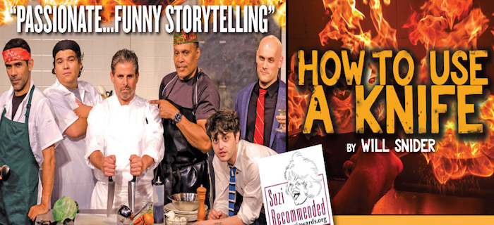 how to use a knife theatre review