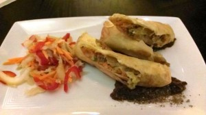 Article 14 duck spring rolls