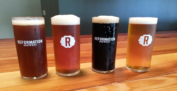 Reformation brewery craft beer