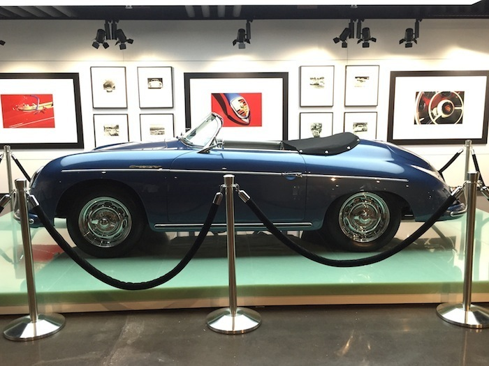 On display at the museum at the PEC Atlatna is the Porsche 356A
