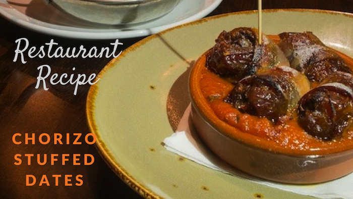 recipe chorizo stuffed dates