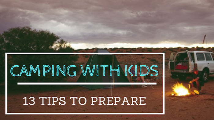 tips on camping with kids