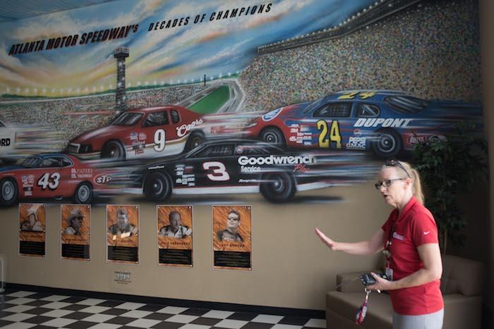 Atlanta motor speedway tour