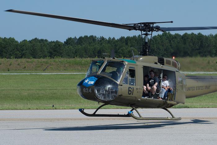 fly huey vietnam helicopter atlanta