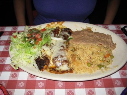 Nuevo Laredo Chicken Enchiladas