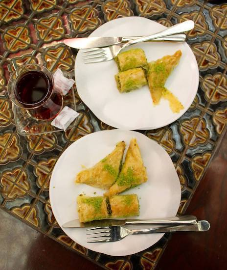 best baklava in Turkey