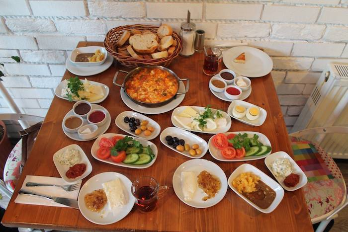traditional turkish breakfast