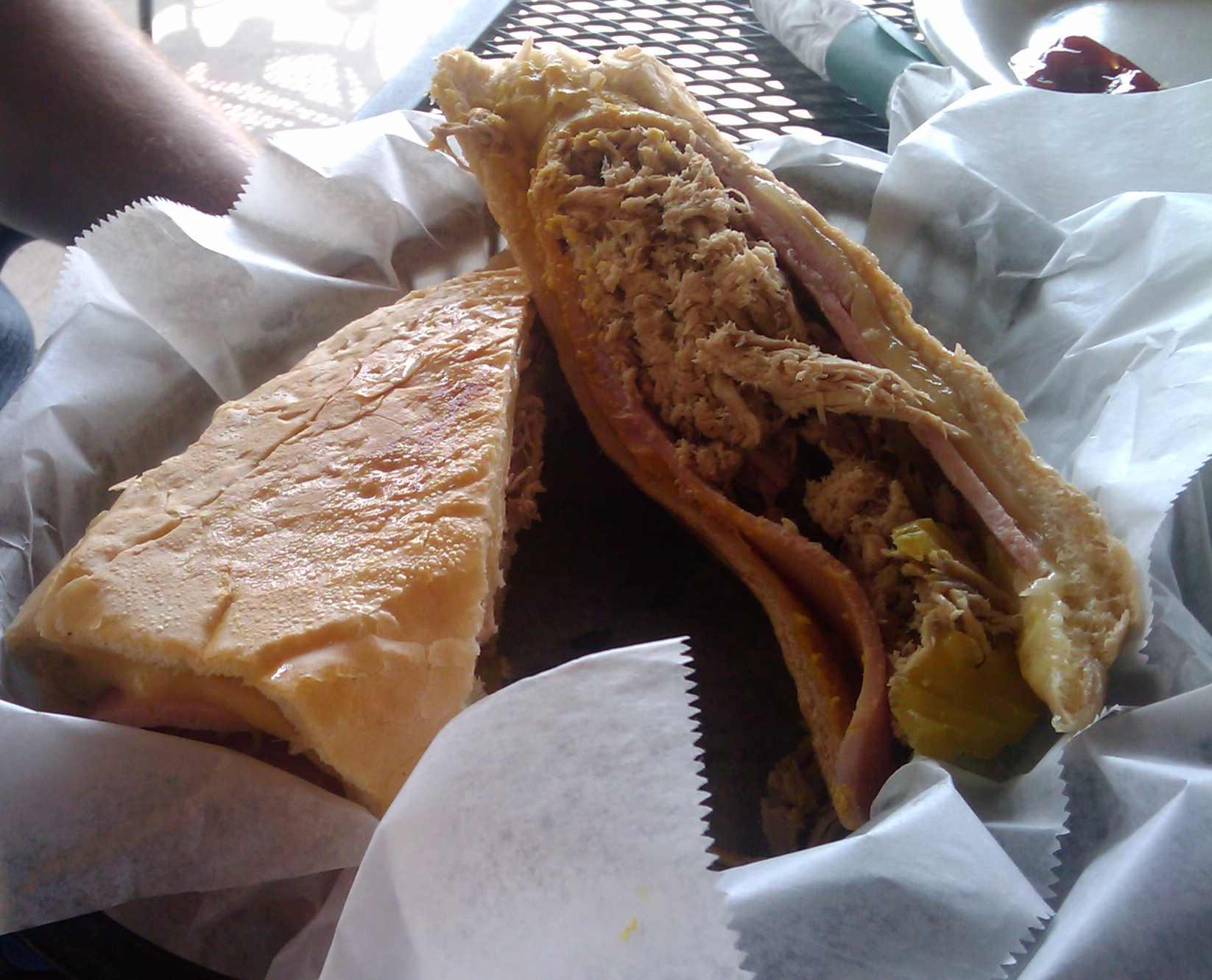 Papi\'s Cuban Sandwich