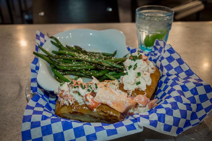 Brine seafood lobster roll