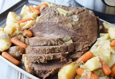 Instant Pot Corned Beef Cabbage