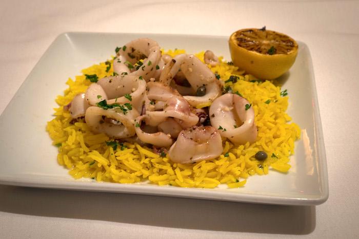 calamari 10 degrees south african restaurant atlanta