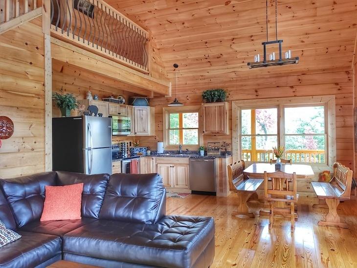 blue ridge ga best cabin rental roamilicious
