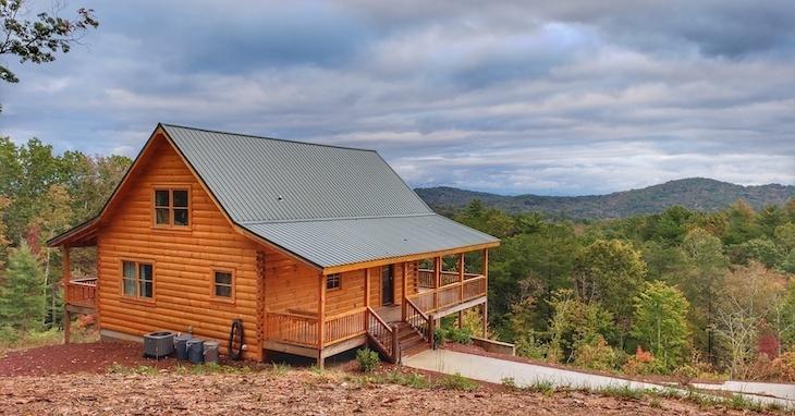 private cabin blue ridge roamilicious