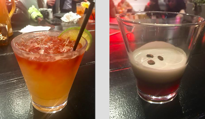 Cocktails at The Local Pizzaiolo