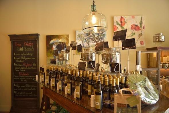 Strippaggio olive oils