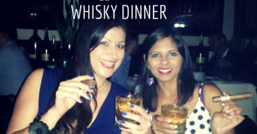 Dewars-Whiskey-Dinner