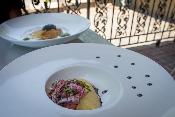 Portofino-polenta-dish