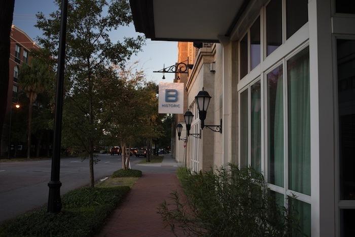 B historic hotel savannah review