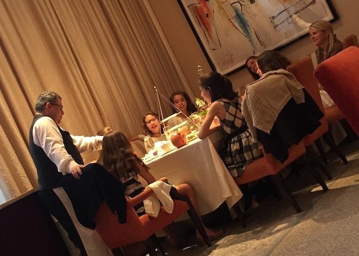 kids tea party at st regis