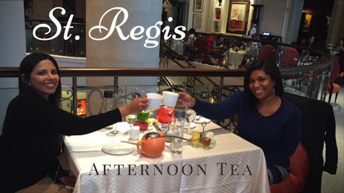 st regis afternoon tea review