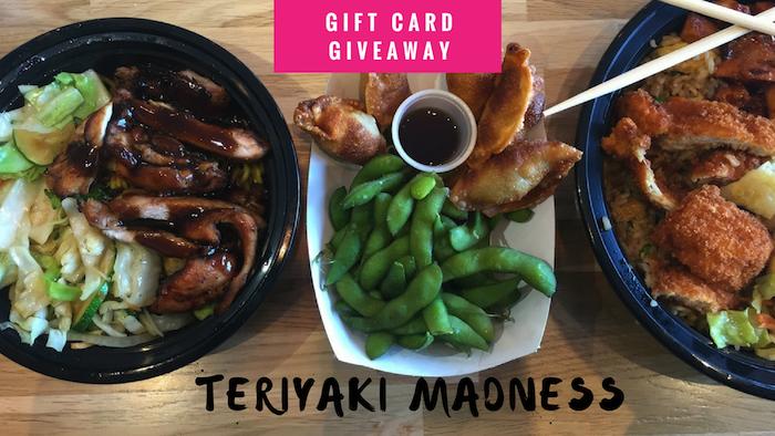 teriyaki Madness giveaway