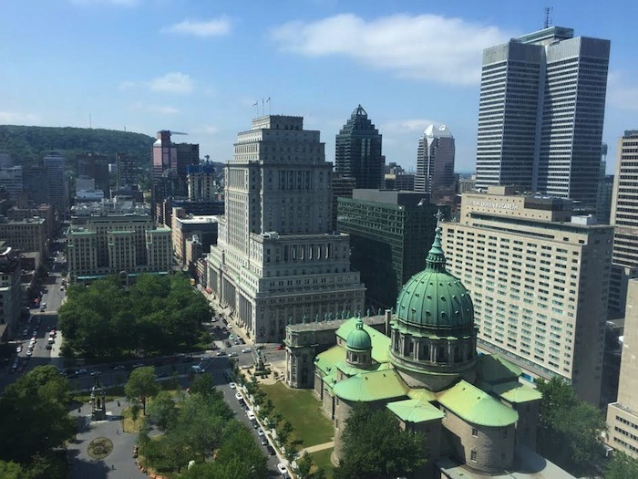 Montreal-Marriot Chateau Champlain-hotel