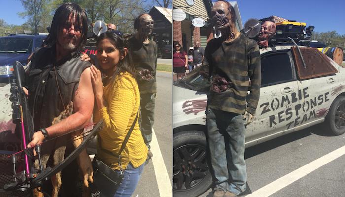 big zombie tour atlanta movie tours