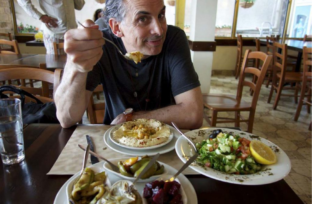 Movie Review in search of Israeli-cuisine