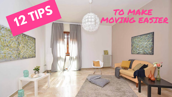 12 tips to make moving easier