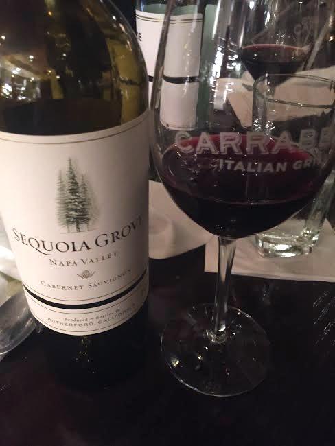 carrabbas wine dinner