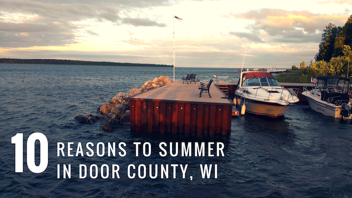 visit door county WI