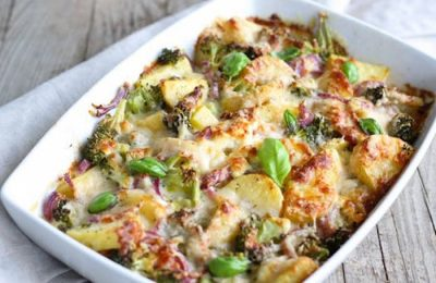 au gratin Thanksgiving side dish
