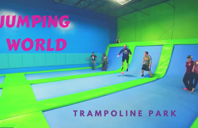 jumping world trampoline park fun
