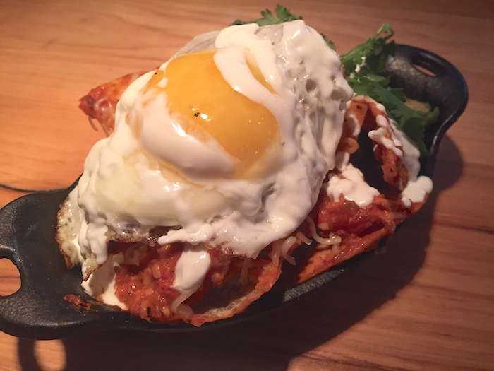 lobster chilaquiles