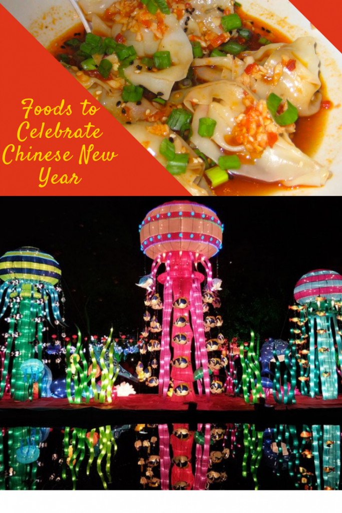 Chinese new year foods to eat