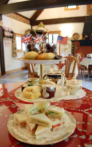 High Tea at Anne Hathaway Cottage Tea Room