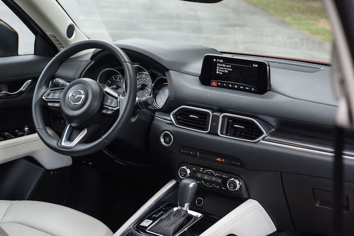 2017 mazda cx5 suv interior