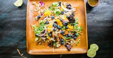 Instant Pot Quinoa salad-mango