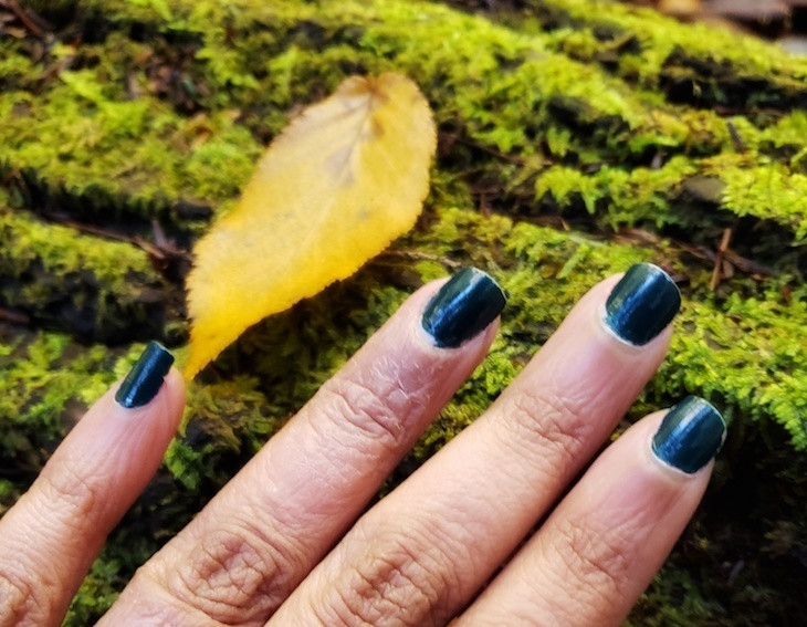 zoya nail polish dark teal fall Roamilicious